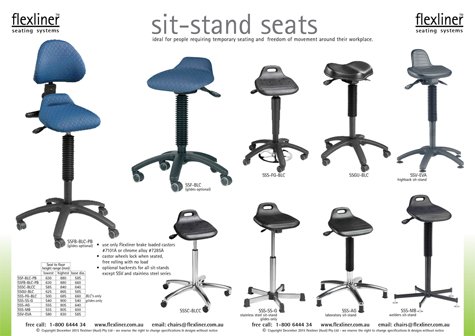 Standing Chairs